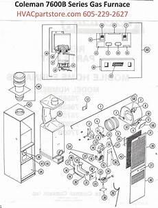 7680b856 Coleman Gas Furnace Parts Hvacpartstore