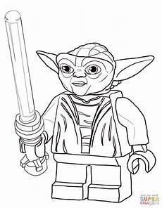 Lego Wars Yoda Ausmalbilder Lego Wars Master Yoda Coloring Page Free Printable