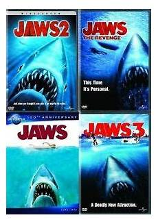 jaws 1 2 3 4 the dvd set one two thre four