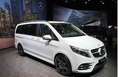 neue v klasse 2019 new 2019 mercedes v class mpv gains more power autocar