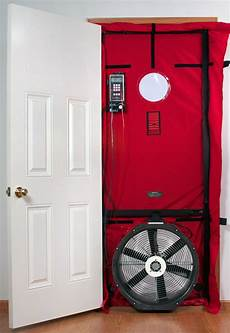 what are blower door tests and why do they matter usi