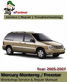 chilton car manuals free download 2007 mercury monterey lane departure warning mercury monterey service repair manual 2005 2007 automotive service repair manual