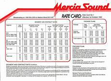 rate card template in word rate card templates word templates docs