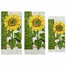 Walmart Kitchen Decor by Mainstays Sunflower Kitchen Towel Set 6 Walmart