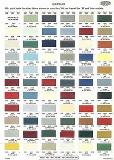 17 best images about auto paint color charts pinterest