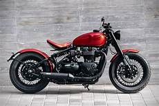 2017 triumph bonneville bobber by modification motorcycles