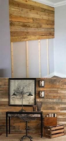 Shiplap Wall And Pallet Wall 30 Beautiful Diy Wood Wall