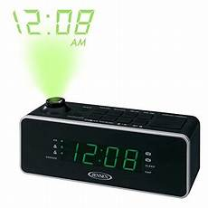 Time Projection Dual Alarm Timing Date by Compact Am Fm Time Projection Dual Alarm Clock