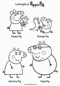 Ausmalbilder Peppa Wutz Coloring Page Peppa Pig Coloring Home