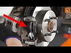 how to change a rear brake discs and rear brake pads on