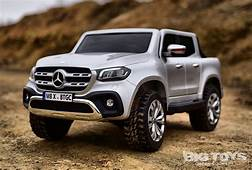 Big Toys 4x4 Battery Powered Ride On Mercedes Truck With