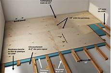 isolation plancher beton rattrapage de niveau sur 10 cm