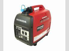 Honda Propane EU2000i Inverter Generator   WHISPER QUIET