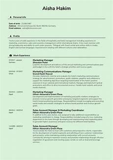 resume exles by real sheraton hotel marketing