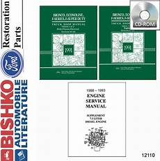 service and repair manuals 1991 ford f series seat position control 1991 ford truck bronco econoline shop service repair manual cd ebay