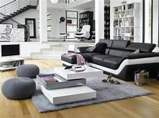 Deco Salon Avec Canape Cuir Noir