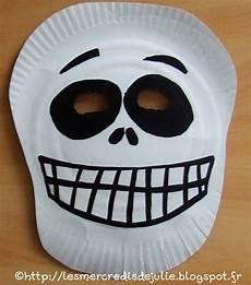 les mercredis de julie masque squelette avec