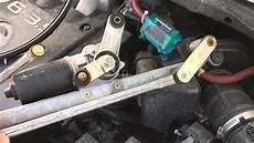 repair windshield wipe control 2011 nissan 370z transmission control nissan murano wiper transmission replacement youtube