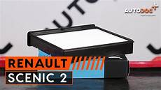 hoe een interieurfilter vervangen op een renault sc 201 nic 2