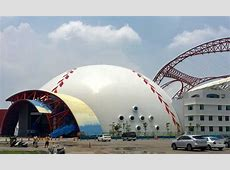 New sports dome completed in Taiwan   Monolithic Dome