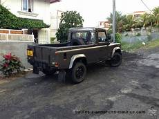 defender d occasion annonce land rover defender 110 up maurice
