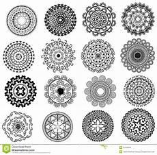 Detailed Mandala Design Stock Vector Illustration Of