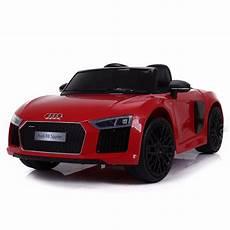 Voiture De Sport 233 Lectrique 12v Pour Enfant Audi R8 Spyder