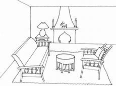 dessin d un salon coloriage salon facile dessin gratuit 224 imprimer