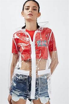 plastic clothes vinyl clear plastic mac jackets coats clothing topshop