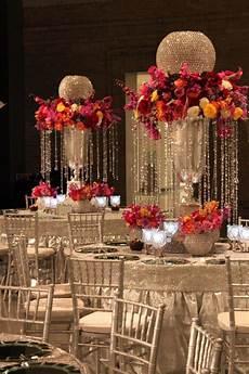 unique glamorous centerpiece wedding reception
