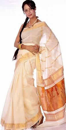 top 14 kerala cotton sarees ivory and golden kasavu cotton sari kerala sarees
