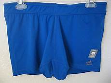womens adidas techfit compression shorts xl blue athletic climalite training 49 usd 28 49