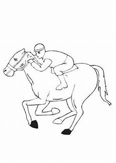 Malvorlage Liegendes Pferd Ausmalbilder Dickes Rennpferd Pferde Malvorlagen