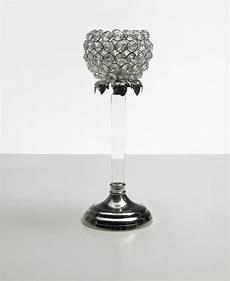 kristall kerzenst 228 nder teelichthalter acryl teelichthalter