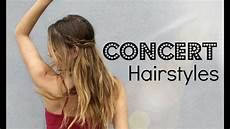 cute hairstyles for country concerts how to concert hair 2 braided up do s youtube