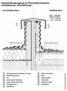 dachaufbau flachdach bitumenbahnen detailausbildungen die bitumenbahn