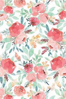 iphone wallpaper floral pattern small watercolor floral on white by taylor bates