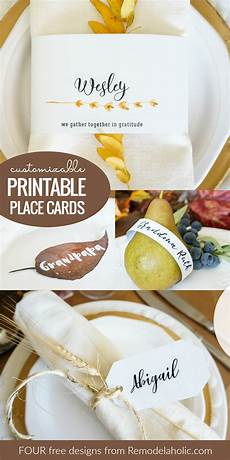 thanksgiving 2017 place card templates remodelaholic free customizable printable place cards
