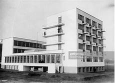 exterior of the students rooms at the bauhaus school at