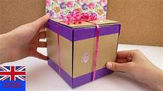 cadeau anniversaire how to make this cool gift box