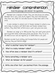 grade 3 comprehension activity speech therapy themes