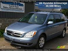 2008 Hyundai Entourage Gls by South Pacific Blue 2008 Hyundai Entourage Gls Gray