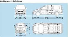 vw caddy technische daten vw caddy maxi technische daten abmessungen