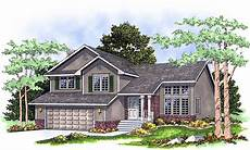 split entry house plans split level home plan 8963ah architectural designs