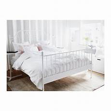 ikea leirvik bed frame white size iron metal country