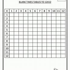 free blank multiplication chart 1 12 multiplication worksheets multiplication chart blank