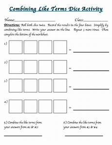 combining like terms worksheets homeschooldressage com