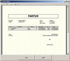 contoh faktur pajak untuk pembeli non pkp contoh four