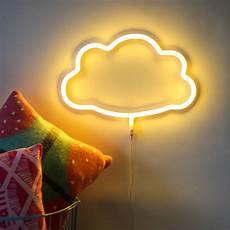 neon style led wall light by berylune notonthehighstreet com