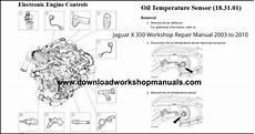chilton car manuals free download 2006 jaguar xj parking system jaguar x350 service repair workshop manual